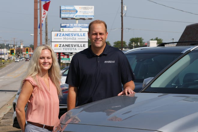 Thomas Peden moved to Zanesville from West Virginia to purchase the former Tansky Toyota and Tansky Honda dealerships. He brought his sister Ashley with him to run the Honda dealership. The siblings are third generations car dealers.