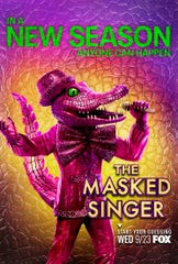 "The costume for Crocodile is revealed ahead of the Season 4 debut of Fox's ""The Masked Singer."""