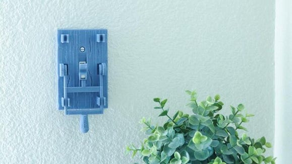 This kitschy switch is great for Frankenstein lovers.