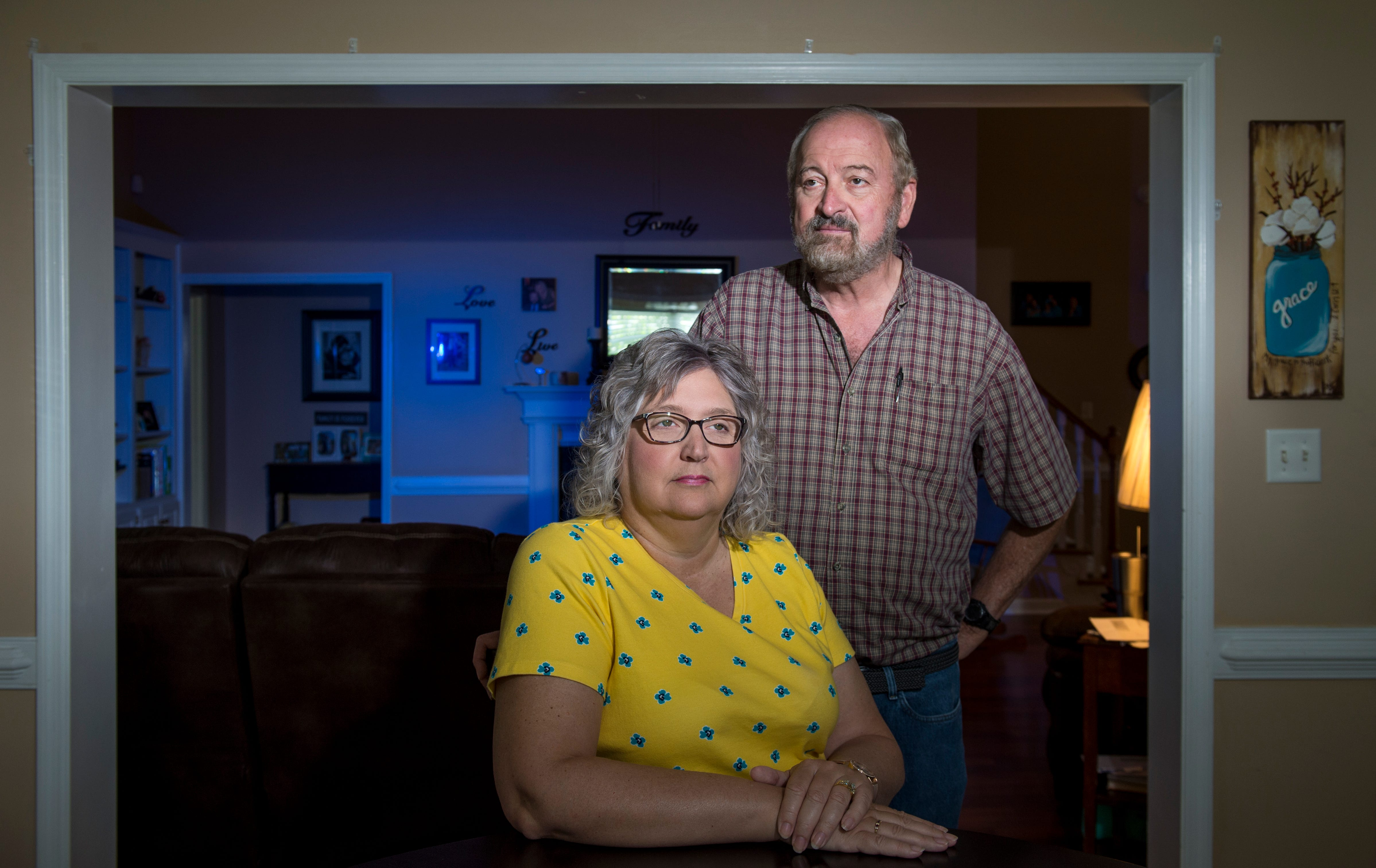 Georgia residents Teresa and John Johnson were aboard a cruise ship that experienced one of the first outbreaks. They were quarantined at Dobbins Air Reserve Base and had symptoms, yet they were never tested before being sent home.