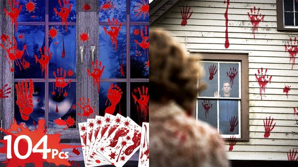 These gruesome decals are great if you want to dial up the horror.