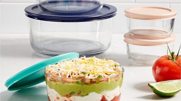 This Pyrex storage set is more than half off.