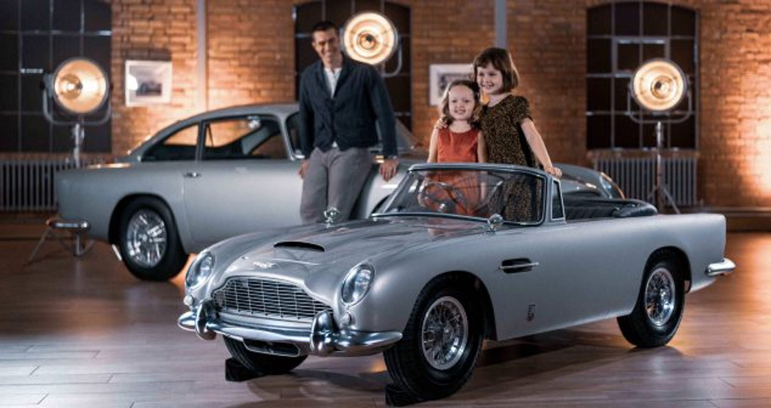 Aston Martin S Db5 Junior Is Made For James Bond Fans Of All Ages