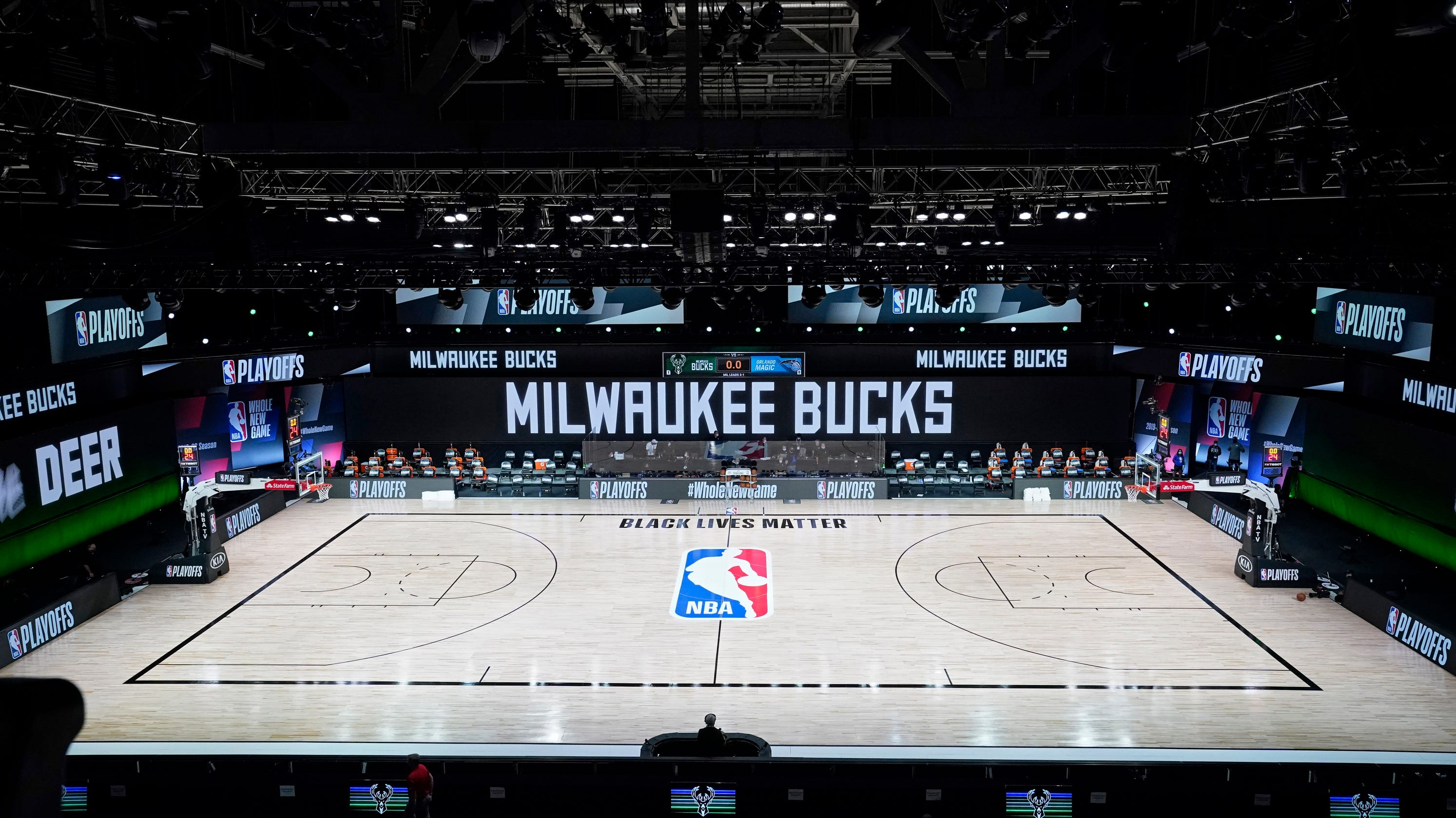 Inside look at Milwaukee Bucks' decision to not play game vs. Magic thumbnail