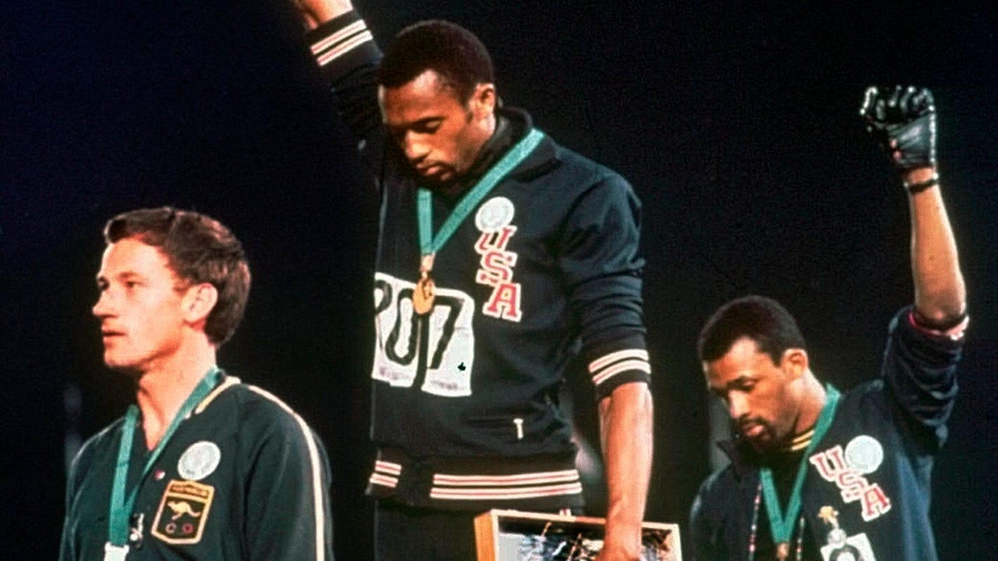 'I wanted to do what was right': Tommie Smith and Colin Kaepernick connected across history