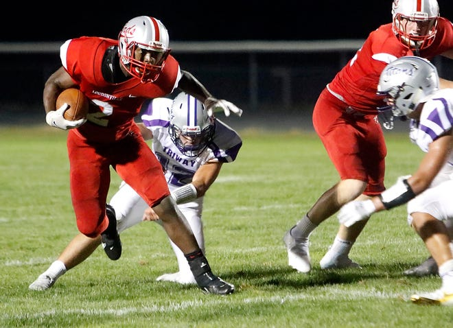 Loudonville's Sam Williams-Dixon has eclipsed the 1,000-yard mark in just seven games as a freshman, also racking up 240 receiving yards.