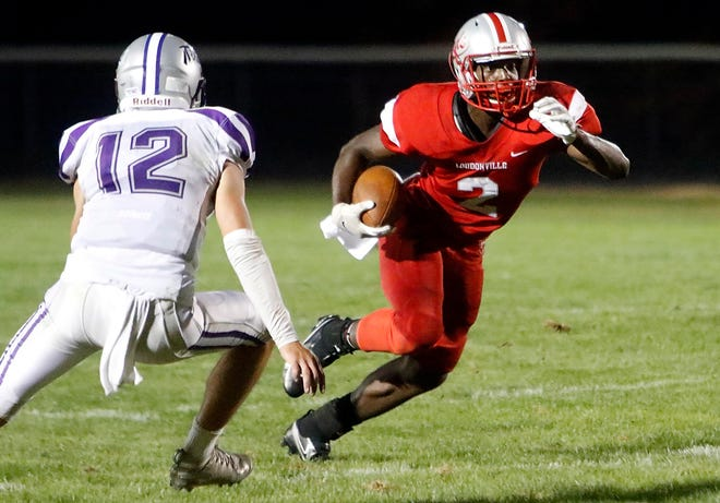 Loudonville freshman Sam Williams-Dixon entered into the area's top five rushing leaders after a big game last week.