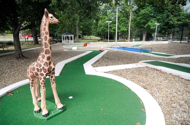 Brookside Mini Golf course seen here on Friday, will open on Tuesday, Sept. 1 at 5:30 p.m.
