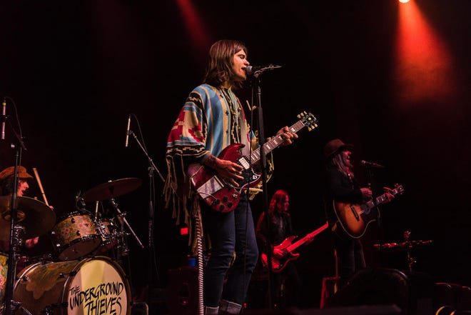 Nick Perri opens for Blackberry Smoke on Sept. 12 at the Starlight Drive-In in Butler.