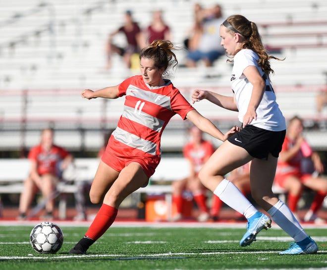 Freedom junior Renae Mohrbacher scored a program record 70 goals last season.