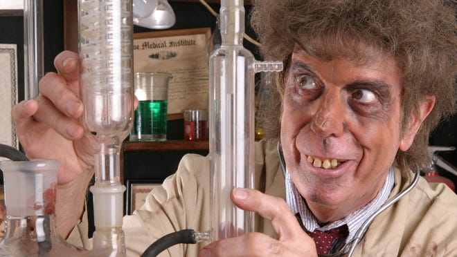 Sid Rideau in character as Dr. Morgus the Magnificent. Rideau has died, age 90.