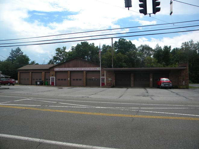 Northfield Center Township is considering building a new fire station to replace its current facility, shown here, on Route 82.