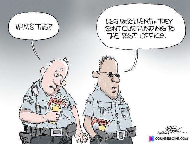 Editorial cartoon (Aug. 30, 2020)