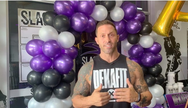 """We wanted to motivate people and create positivity in the community,"" explained Slash Fitness co-owner Joe Ardagna of his decision to hold the debut DEKAFIT fitness challenge at his facility."