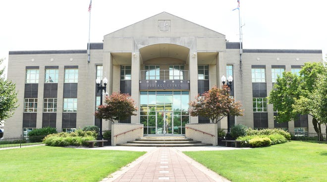 Portage County Courthouse in Ravenna, Ohio