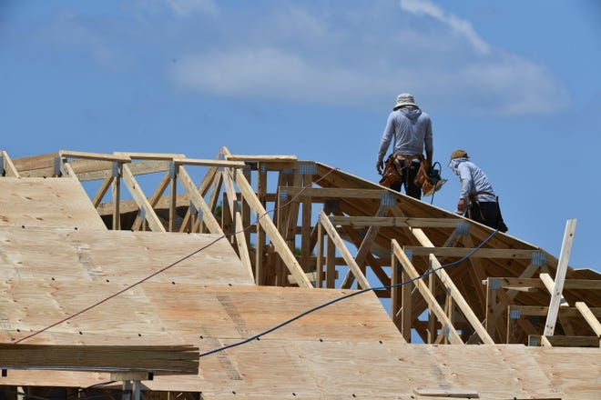 Building development is advancing in Sarasota County even during the pandemic.