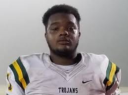 Pine Forest defensive tackle Isaiah Potts made 162 tackles and 10 sacks as a freshman and sophomore for the Trojans. (Fayetteville Observer photo)
