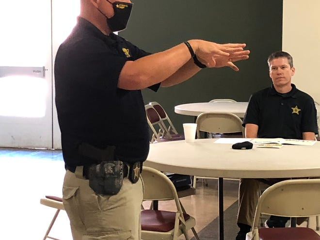 Mississippi/Alabama D.A.R.E. Program instructors provided 80 hours of training during a conference for law enforcement offices in Etowah County during the last two weeks.