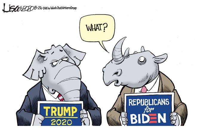 Allegiances shift among some Republicans