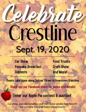 Celebrate Crestline will take place Sept. 19, 2020.