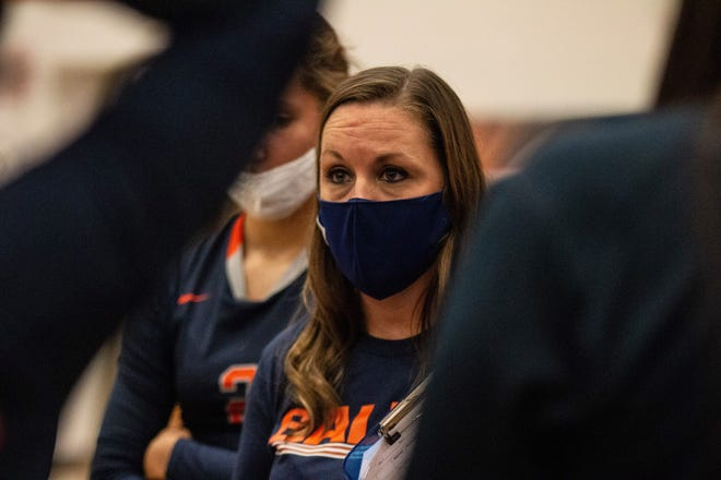 Kristi Hardy, just like every coach in the state, is learning to balance sports and COVID regulations this season.