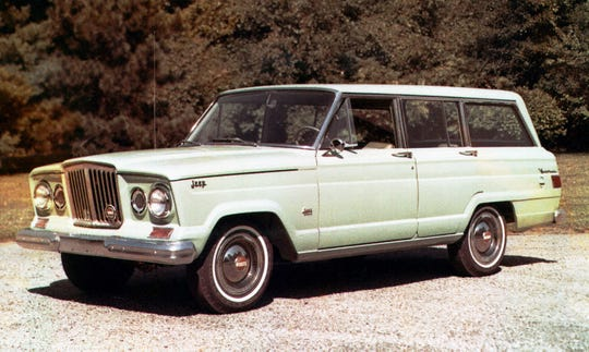 The Jeep Wagoneer debuted as a 1963 model