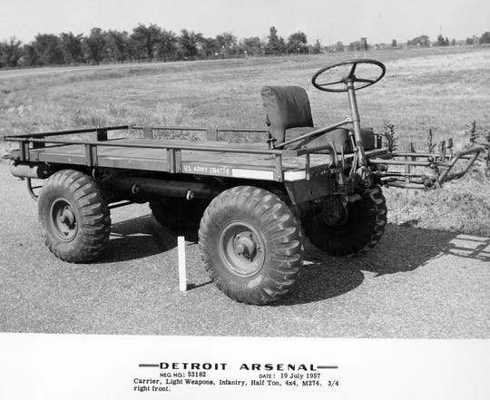 Jeep Mechanical Mule.