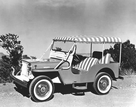 1959 Jeep Gala Surrey