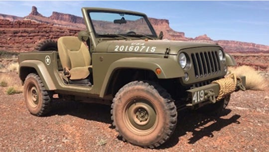 A 2017 Jeep Salute 75th Anniversary.