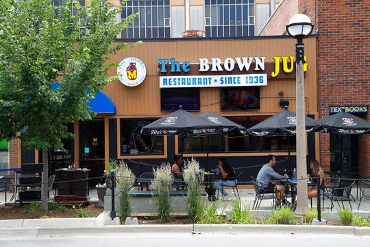 The Brown Jug restaurant in Ann Arbor