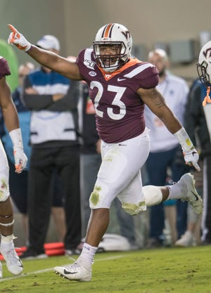 Virginia Tech and Virginia will not play football next Saturday due to COVID-19 issues on Virginia Tech's campus.