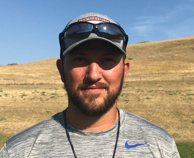 Centerville head coach Brian Davison returns to his roots as he coaches his first Six-Man game against Geraldine-Highwood Saturday afternoon at the Sand Coulee school. Davison played quarterback for Highwood in the mid-2000s.