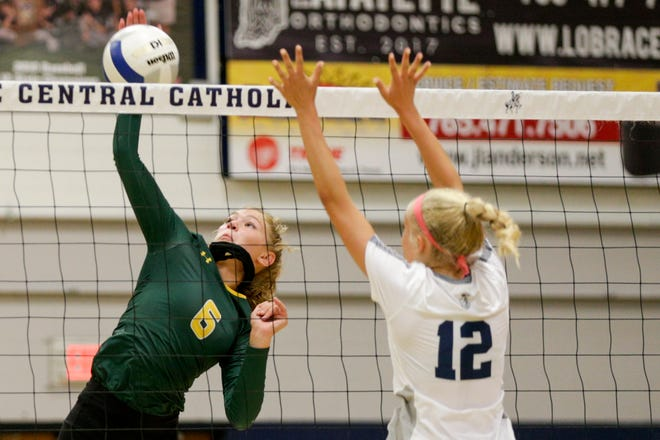Freshman Sienna Foster totaled 22 kills on Saturday, helping the Bison win a sectional championship.