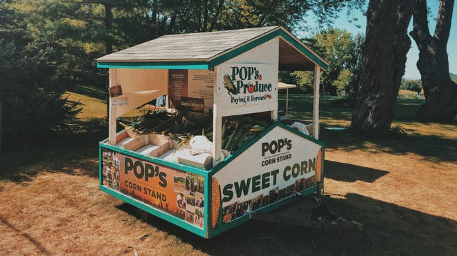 Pop's Corn Stand in the town of Genesee raises money for people with cancer.