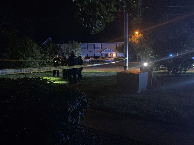 Murfreesboro police responded to a fatal shooting at Northfield Commons Apartments on Thursday, Aug. 27, 2020.