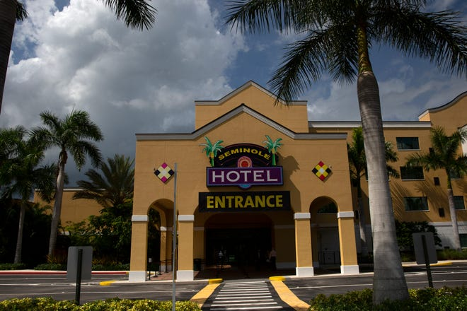 """Seminole Casino Hotel in Immokalee. HardRockInternational and Seminole Gaming recently launched the """"Rock Your Shot"""" incentive program"""
