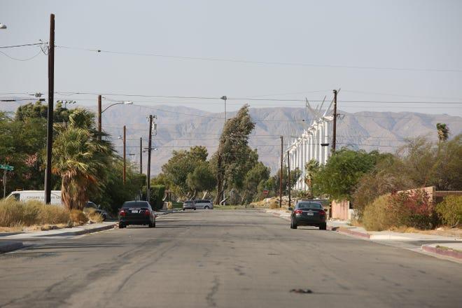 Granada Avenue can be seen in Desert Highland Gateway Estates on Thursday, August 27, 2020 in Palm Springs, Calif.