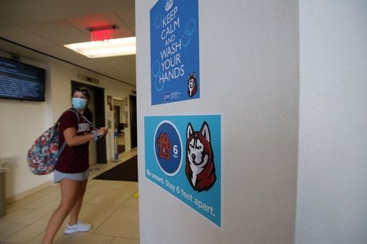 Bloomsburg University will move to remote instruction because 90 people have tested positive for COVID-19.