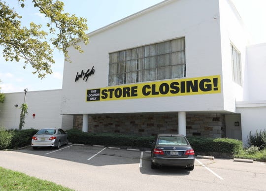 The exterior of the soon to be closed Lord & Taylor in Eastchester, Aug. 28, 2020.
