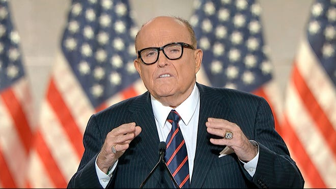 rudy giuliani was once sane about elections we have video evidence rudy giuliani was once sane about