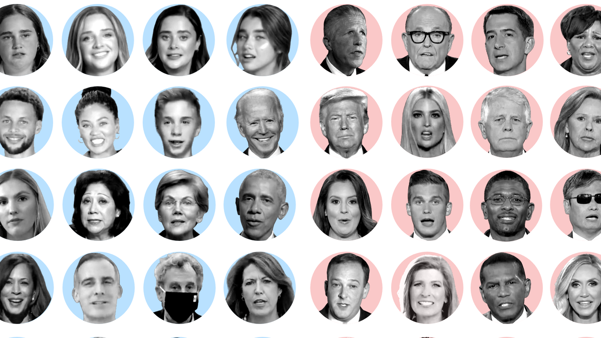 RNC vs. DNC: Different speakers for divergent messages