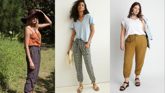 You can wear these joggers literally anywhere.
