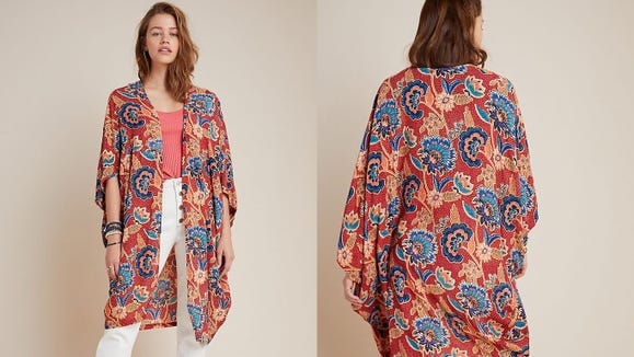 This pretty kimono goes with basically anything.