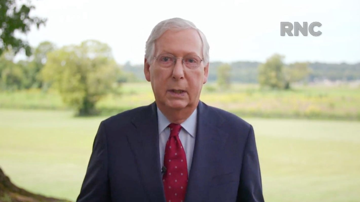 McConnell says Senate will vote on Trump's nominee to fill Ruth Bader Ginsburg's Supreme Court seat