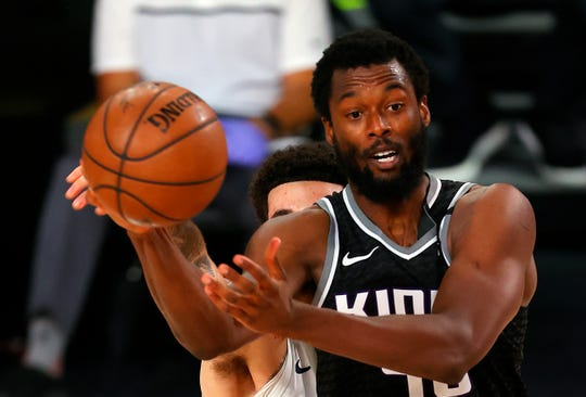 'It's as if voting was made difficult by design,' says Sacramento's Harrison Barnes.