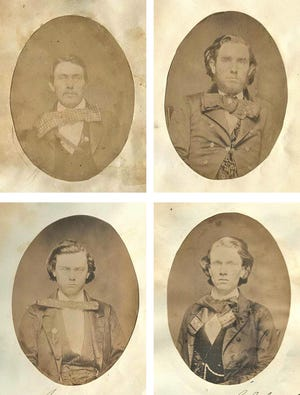 Fashion throughout time is known for frequent and drastic changes but, these gaudy cravats or modern necktie equivalents were out of place even in 1859.