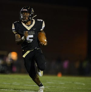 Gray's Creek's Jerry Garcia Jr. emerged as an All-Patriot Athletic 4-A/3-A Conference pick after ranking second among Cumberland County rushers with 2,085 yards and 23 touchdowns on 205 carries last season.