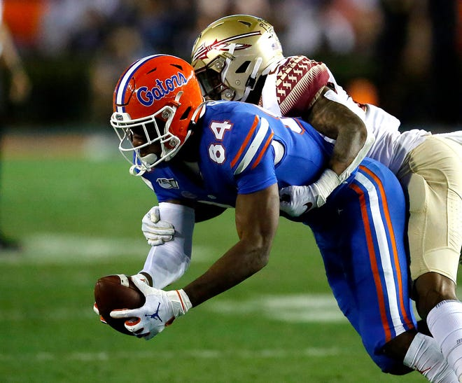 Florida tight end Kyle Pitts enters the season with high expectations.