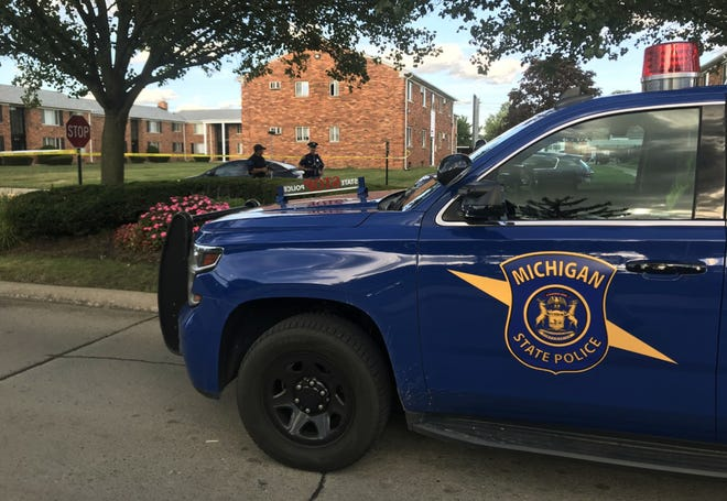 Police are investigating the shooting that took place around 3 p.m. at Cherry Hill Village Apartments near Cherry Hill and Inkster Road.