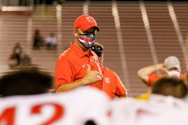 West Lafayette coach Shane Fry.